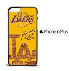 Los Angeles Lakers X3144 iPhone 6 Plus | 6S Plus Case