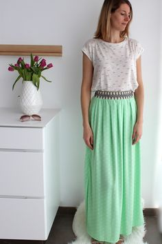 Florence Flair maxi skirt by Sylvia