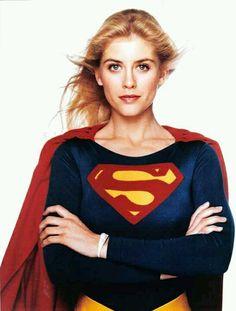 Helen Slater as Supergirl. Helen Slater Supergirl, Supergirl Movie, Supergirl Superman, Geek Movies, Comic Movies, Indiana Jones, Supergirl Pictures, Dc Comics, Superman Artwork