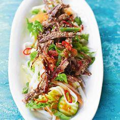 Rezept von Jamie Oliver: Asia-Salat mit Lammfleisch