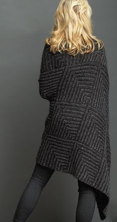 Mitred Knit Blanket - Jo Sharp Knitting