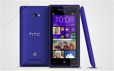 HTC Windows 8X 8GB Blue Unlocked (AT&T) Smartphone Good Condition
