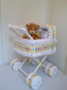 http://www.pinterest.com/loveableeve/baby-showers/ diaper stroller