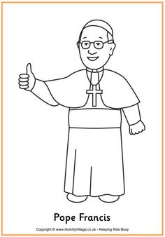 St. Francis coloring page!