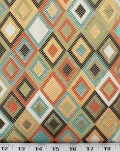 Tiles So Happy | Online Discount Drapery Fabrics and Upholstery Fabric Superstore! - $16.98/yard