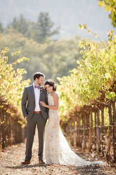 Napa Valley Wedding Portraits #wedding #vineyards #napavalley