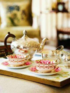 Coffee Time, Tea Time, Brownie Sans Gluten, Café Chocolate, Cuppa Tea, My Cup Of Tea, Tea Service, Vintage Tea, Vintage Style