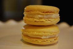 Two Sweets Bake Shop. Our lemon French Macarons