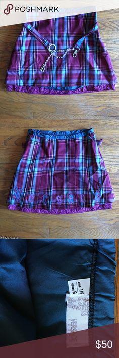 Selling this Authentic Versace Tartan plaid school girl skirt 6 on Poshmark! My username is: xcountryvwbus. #shopmycloset #poshmark #fashion #shopping #style #forsale #Versace #Other