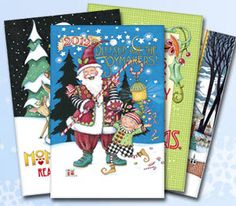 Holiday greeting cards by Mary Engelbreit are now available in select Walmart locations!     To celebrate, we are giving away two gift packs of American Greetings holiday cards! http://www.maryengelbreit.com/me-giveaways.html