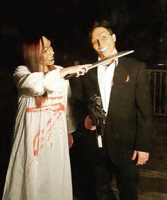 The purge Halloween costume #purge