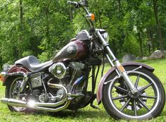 1985 Harley Davidson FXSB LowRider -- This looks exactly like Randy's bike - brings back memories of some great rides ;)