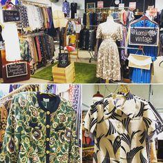 Stocked and loaded for another wonderful weekend. @lostandfoundmarket stall #1. #Koenjivintage. #vintagefashion #melbourne #brunswick