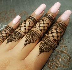 Very Simple Mehndi Designs, Henna Tattoo Designs Simple, Wedding Henna Designs, Mehndi Designs For Beginners, Modern Mehndi Designs, Mehndi Design Images, Beautiful Henna Designs, Latest Mehndi Designs, Finger Mehendi Designs