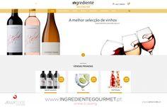 Ingrediente Gourmet website