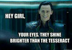 A true charmer: Loki, The God Of Charming Comments That Relate To The End Of Everything.
