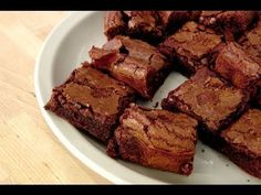 Fudgy Brownies Recipe - Laura in the Kitchen - Internet Cooking Show Starring Laura Vitale