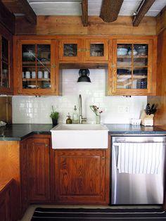 Kitchen at An Antique Connecticut Farmhouse Made Modern | Design*Sponge