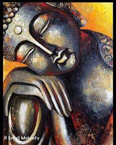 Draw On Photos, Pictures To Paint, Buda Painting, Namaste Art, Images Disney, Buddha Zen, Buddhist Art, Indian Art, Doodle Art