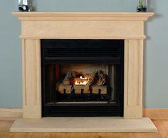MantelCraft - Villanova cast stone mantel surrounds, $1,058.00 (http://www.mantelcraft.com/stone-fireplace-mantels/villanova-cast-stone-mantel-surrounds/)