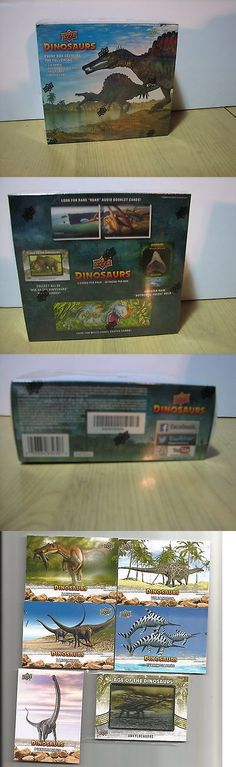 Other Sports Trading Cards 217: 2015 Upper Deck Dinosaurs Factory Sealed Hobby Box Patch Relic Etc. -> BUY IT NOW ONLY: $69.99 on eBay!