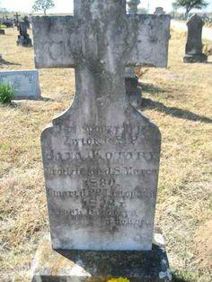 John Kotara Headstone