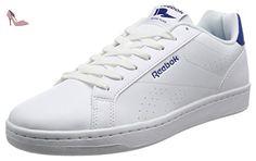 Reebok Complete Cln, Sneaker Basses Mixte Enfant, Blanc Cassé (White/Collegiate Royal), 36.5 EU - Chaussures reebok (*Partner-Link)