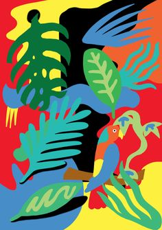 Matisse Cutouts, Matisse Art, Henri Matisse, Shape Collage, Arte Pop, Elements Of Art, Art Plastique, Art Sketchbook, Art Lessons