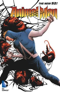 ANIMAL MAN VOL. 4: SPLINTER SPECIES TP Written by JEFF LEMIRE Art by STEVE PUGH, FRANCIS PORTELA, JOHN PAUL LEON and others Cover by JAE LEE On sale MARCH 5 • 144 pg, FC, $14.99 US Following the loss of his son, Buddy Baker finds he can't mourn in peace without constant media intrusions that his newfound fame as an actor have brought about. This volume collects issues #20-23 and ANIMAL MAN ANNUAL #2.