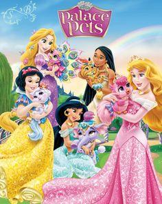 New Disney Princess Palace Pets!
