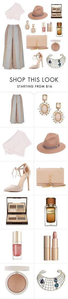 """""""fwnyc"""" by leafmarie ❤ liked on Polyvore featuring TIBI, Oscar de la Renta, Rosie Assoulin, Roberto Cavalli, Charlotte Russe, Yves Saint Laurent, Charlotte Tilbury, Dolce&Gabbana, Margaret Dabbs and Topshop"""