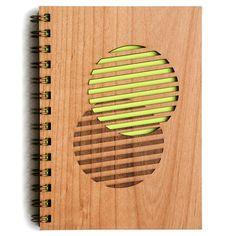 lasercut notabook