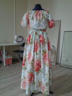 Платье-крестьянка / Фотофорум / Burdastyle