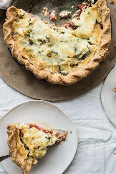 Save the recipe! Tomato Pie, Best Dishes, Recipe Of The Day, Quiche, Breakfast, Sweet, Recipes, Food, Morning Coffee