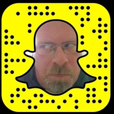 Figuring out this Snapchat thing. I hear all the cool kids are doing it. So it's my job to make it less cool. I think that's how it works as a parent. Right?