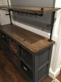 Wish to make a coffee bar style in your home? Overwhelmed the design? Take it easy, you can see a few of the layouts we supply to locate your imaginative ideas right here bar coffee bar coffee bar Bar Furniture For Sale, Diy Furniture Projects, Repurposed Furniture, Furniture Makeover, Discount Furniture, Dresser Repurposed, Diy Projects, Furniture Shopping, Furniture Nyc
