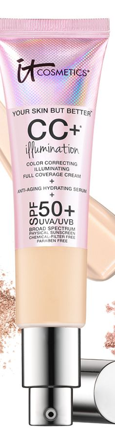 New products from IT Cosmetics this Spring include CC+ Illumination Cream.