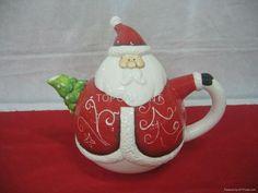 Christmas teapot.