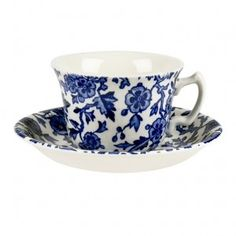 The Bee's Knees British Imports - Blue Arden Teacup and saucer, $35.00 (http://www.thebeeskneesbritishimports.com/products/Blue-Arden-Teacup-and-saucer.html)