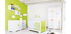 Colección MATHS infantil. Habitación de bebé multicolor, moderna y divertida ¡Como la vida misma!