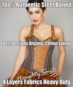 Healthy Wearing & Modern Fashion-Organic Corsets - Community  #Corsets #Newyork