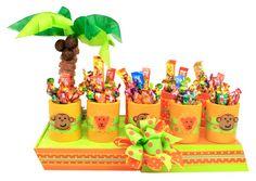 Despachador de dulceros para decorar tu barra de dulces infantiles