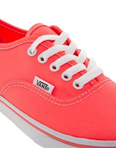 Enlarge Vans Authentic Lo Pro Coral Sneakers