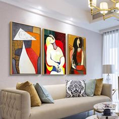 Picasso Abstract Famous Painting Art Posters and Prints Canvas Paintings Wall Art Pictures for Living Room Decor (No Frame) Living Room Pictures, Home Pictures, Wall Art Pictures, Canvas Pictures, Cheap Paintings, Canvas Paintings, Painting Art, Abstract Wall Art, Picasso