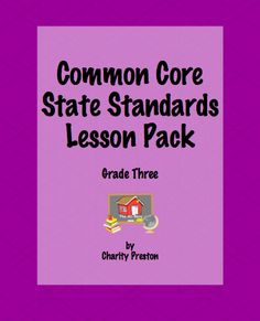 Want a copy of my Common Core Lesson Planning Packs?  Ask an administrator to purchase for your whole school!  I do accept POs!  Details at the website!  $ http://www.theorganizedclassroomblog.com/index.php/ocb-store/view_category/11-multiple-sets-of-the-ccss-packs