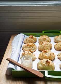 Easy Butter-Studded Drop Biscuits