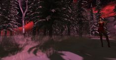 https://flic.kr/p/22pD8bG | snowfall | nice looking sim  Visit this location at Binemust in Second Life
