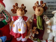 Arts And Crafts Hobbies Code: 1544822829 Mary Christmas, Christmas Sewing, Christmas Projects, Handmade Christmas, Felt Decorations, Christmas Decorations, Christmas Ornaments, Holiday Decor, Reindeer Craft