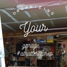 Organizing Garage Cabinets, #amatterofprep