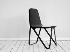Aluminium stoel van Sebastian Scherer